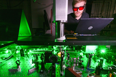 Ultrafast spectroscopy laboratory