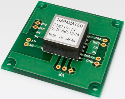 Miniature High Voltage Power Supply Module Spectroscopy