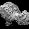 Photo of the comet 67P/Churyumov-Gerasimenko